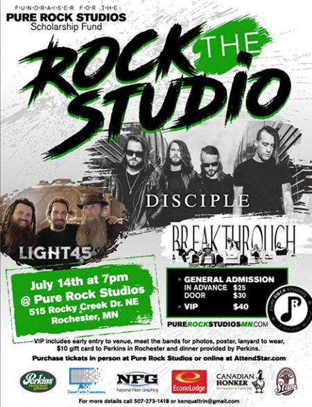 Rock the Studio Concert